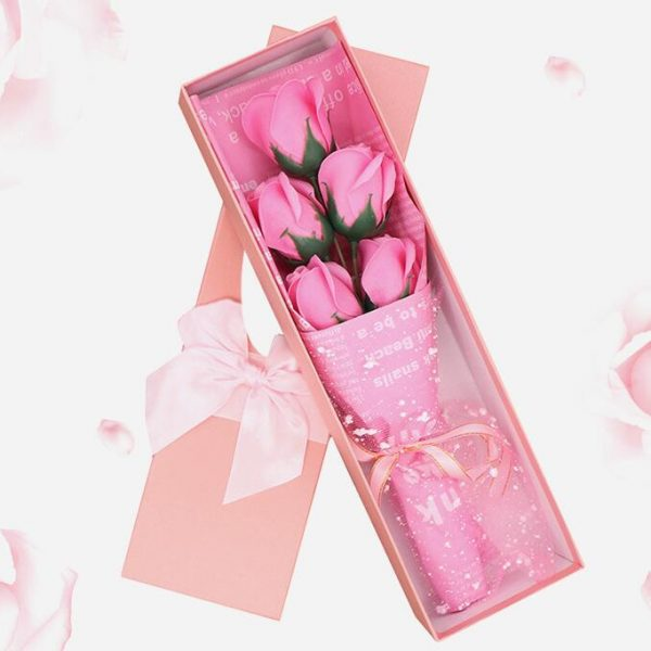 Artificial Soap Rose Flower Forever Love Gift With Gift Box Best