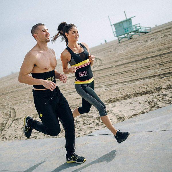 Pink Sweet Sweat Premium Waist Trimmer for Men /& Women Sports Research